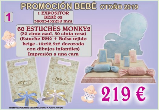 PROMOCION  EXPOSITORES BEBE 1 SEPT. 19