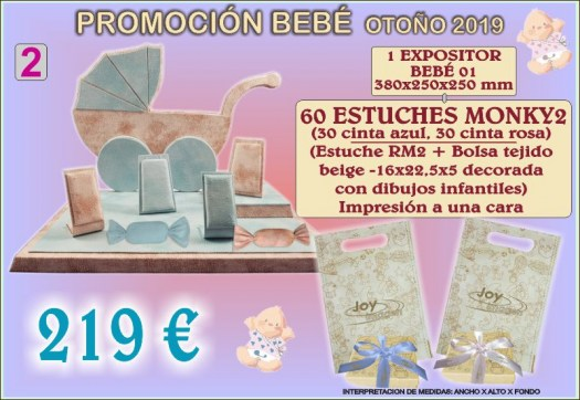 PROMOCION  EXPOSITORES BEBE 2 SEPT. 19